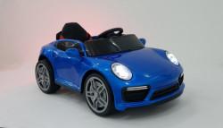 Porsche WMT-911 Dečiji Auto na akumulator sa kožnim sedištem i mekim gumama - Plavi