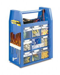 Practi Box set sa 18 klasera BLUE 350x465x200mm ( 12994 )