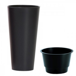 Prosperplast saksija tubus slim 30x57cm antracit ( PR DTUS300-S433 )