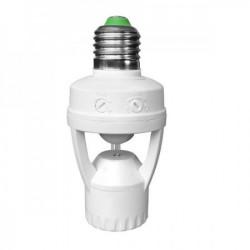 Prosto senzor pokreta U E27 sijaličnom grlu -PRODUZETAK ( DET27/Z )