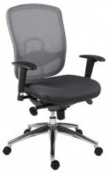 Radna stolica - Oklahoma (mreža + štof)