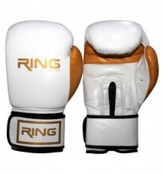 Ring rukavice za boks 10 OZ kozne - RS 3211-10 white