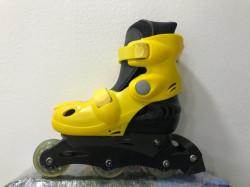 Roleri Blaster Crime MIX vel.S žuti - podesiva veličina 31 - 33
