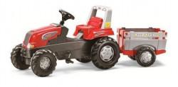 Rolly toys Junior Farm Traktor na pedale sa prikolicom ( 800261 )