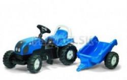Rolly Traktor Rolly kid prikolica plavi ( 012985 )