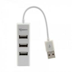 S BOX H 204 USB 4 Portni HUB W