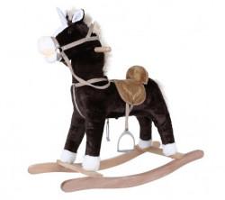 Selay plišani konj na ljuljanje braon muz.3506 ( 350630 )