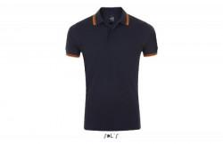 SOL'S pasadena men muška polo majica sa kratkim rukavima teget/narandžasta 3XL ( 300.577.53.3XL )