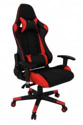Stolica za gejmere - Ultra Gamer (crveno - crna)
