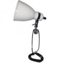 Stona lampa sa fleksibilnim postoljem,e27 , bela ( EL7955 bela )