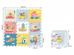 Sun ta toys transport pazle 9 kom 310x310x100 ( PZ30876 )