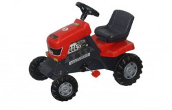 Traktor na pedale za decu - crveni ( 17/52674 )