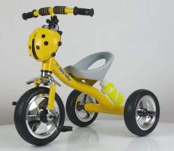 Tricikl Bubamara Model 434 sa točkovima od Eva pene - Žuta