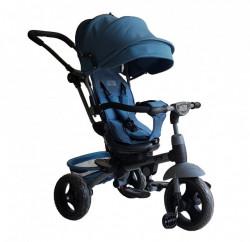 Tricikl Guralica GTS sa rotirajućim sedištem model 4251 - Plavi