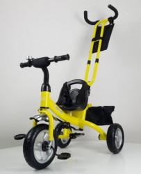 Tricikl Guralica Model 432 sa točkovima od Eva pene - Žuta