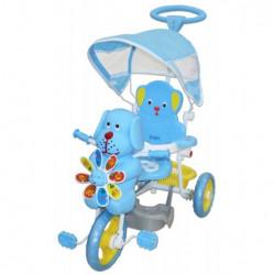 Tricikl za decu Kuca sa melodijama - Plavi