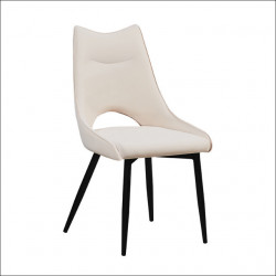 Trpezarijska stolica DC990 od eko kože - Bela ( 775-076 )