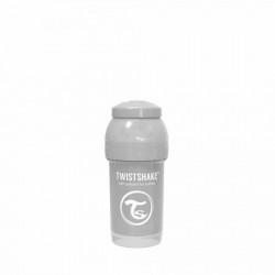 Twistshake flašica za bebe 180 ml pastel grey ( TS78254 )
