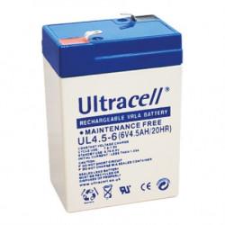 Ultracell žele akumulator Ultracell 4,5 Ah ( 6V/4,5-Ultracell )