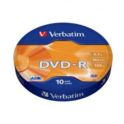 Verbatim 43729 DVD-R 4.7GB 16X ( 55523W/Z )