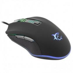 WHITE SHARK gejmerski miš GM-5002 OCTAVIUS RGB - (Crni) Optički, 6400dpi, Dizajniran za desnu ruku, Crna