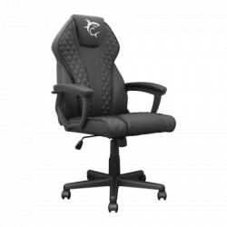 White shark pirate B/B black/black gaming chair