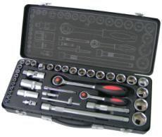 "Womax ključ nasadni sa račnom 1/4"" set 38 kom ( 0545603 )"