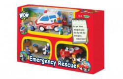 Wow igračka set 3 u 1 Emergency Rescue ( A013769 )