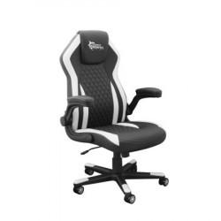 WS DERVISH BW Gaming Chair Black White