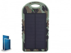 Xwave 6000mAh/imput/output2A / dual USB/ solarni punjac, camping flash ( Camp L 60 military )