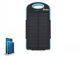 Xwave Camp L 60 blue solar power bank 6000mAh