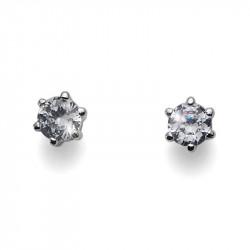 Ženske Oliver Weber Brilli Small Crystal mindjuše sa swarovski belim kristalom