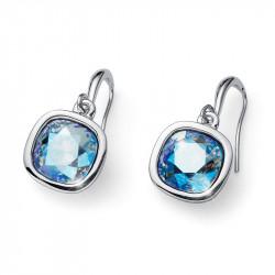 Ženske Oliver Weber Royal Light Sapphire Shimmer Minđuše Sa Swarovski Plavim Kristalom