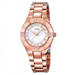 Ženski Lotus Trendy Beli Biserni Roze Zlatni Modni ručni sat