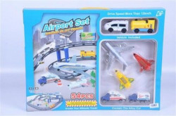 Aerodrom set Racing Slot track 54pcs 50x38x5 ( 327762 )