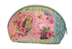 Alistair Kozmetička torbica 25*17*8 cm sova ( 0181088 )
