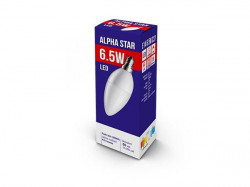 Alpha Star E14 6.5W 3.000K 470LM CANDLE-MAT 15.000H 230V sijalica ( E146ASD/Z )