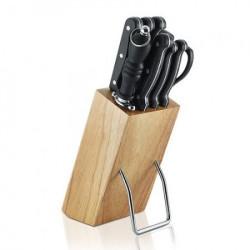 Aurora au860 kuhinjski noževi set 6 komada sa postoljem