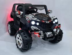 Bagi Mini 4x4 auto na akumulator za decu Crno/Beli