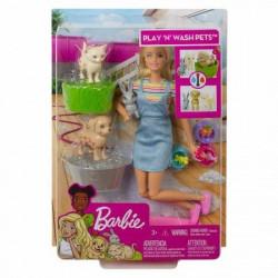 Barbie i ljubimci set zabava na kupanju ( MAFXH11 )