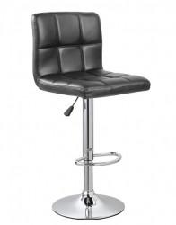 Barska stolica 5018 od eko kože - Crna