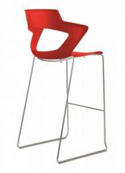 Barska stolica Aoki Bar PC - Crvena
