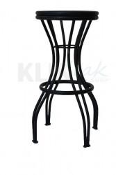 Barska stolica - BS Avangarda - metalno sedište