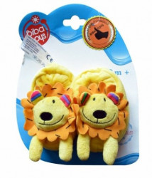 Biba Toys nehodajuće cipelice, lavić, slonče i nilski konj ( A023748 )