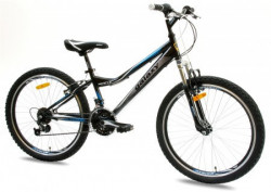 "Bicikl FOSTER 4.0 24""/18 crna/plava ( 650104 )"