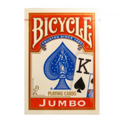 Bicycle Rider Back Jumbo index Poker karte - Crvene ( 37826R )