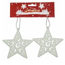 Božićna Zvezda 10 cm 2kom/set ( 40-609000 )