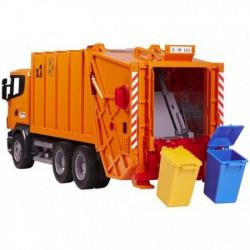Bruder Kamion Scania đubre.oranž 404 ( 035600 )