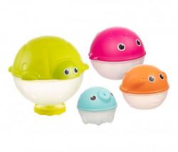 Canpol baby igracka za kupanje 79/106 - creative toys - rain shower 4 kom ( 79/106 )