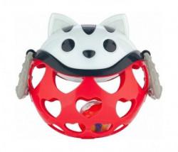 Canpol baby interaktivna igračka sa zvečkom - red cat ( 79/101_red )